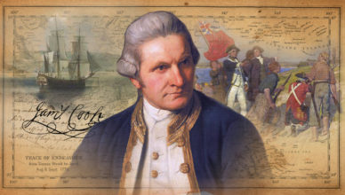Captain-James-Cook-Flat-Earth