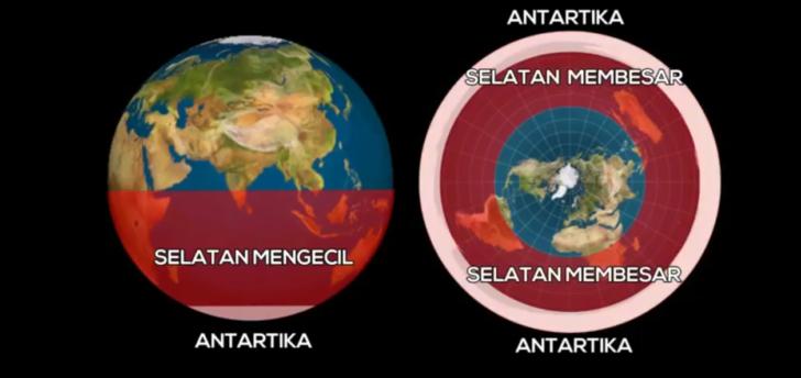 perbedaan-bumi-bulat-dan-datar--di-selatan-khatulistiwanya