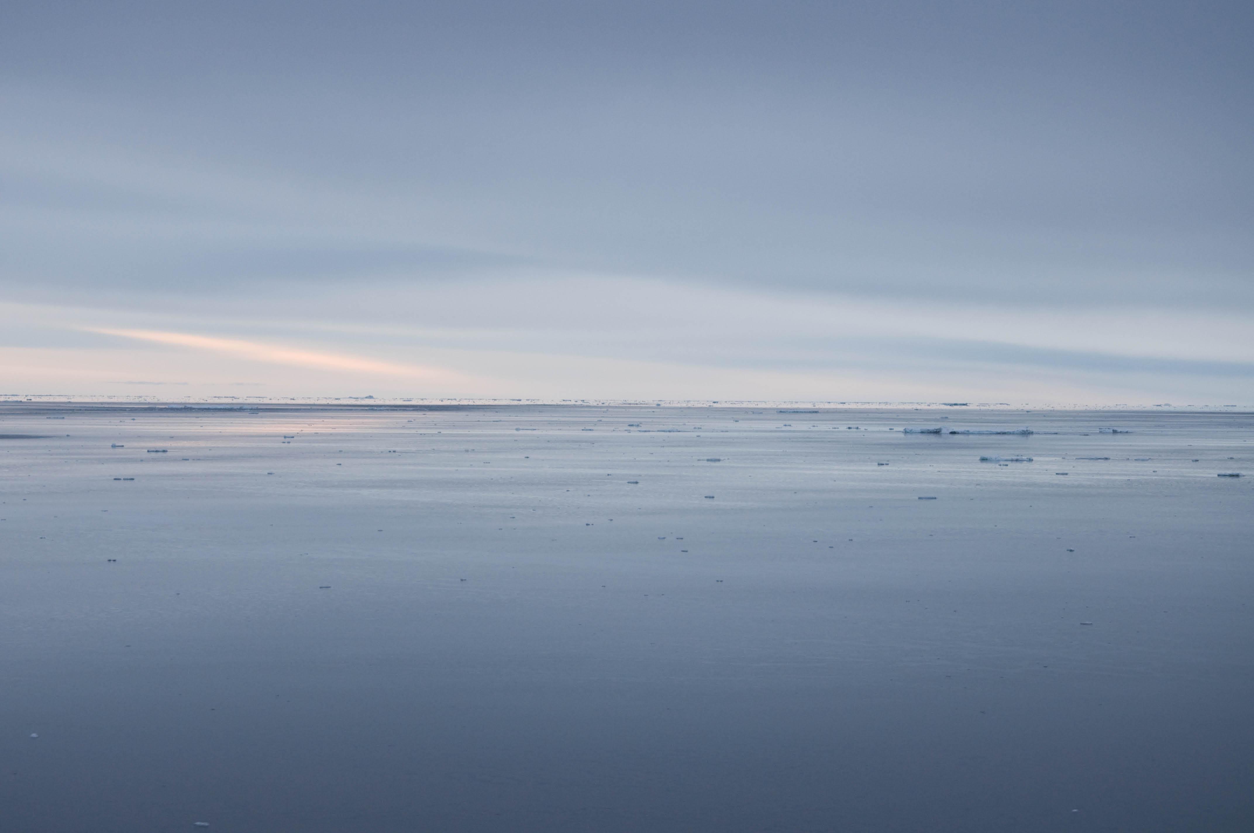 Flat-Horizon-Antartica
