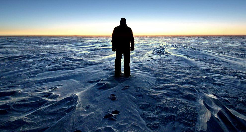 horizon-datar-di-antartika