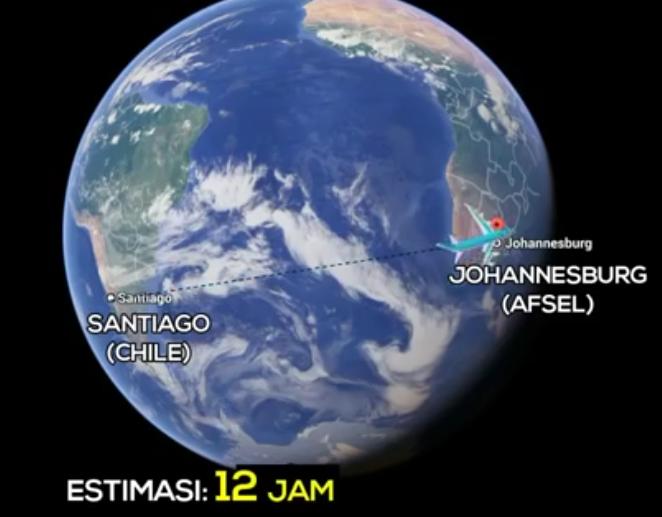 Santiago-Chili-America-Selatan-ke-Johanesburg