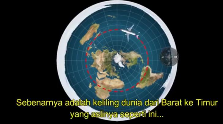 penerbangan-keliling-dunia-peta-bumi-datar
