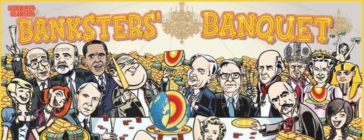 Monopoli Alat Tukar oleh Bankster