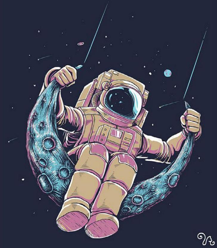 Manusia Pernah Ke Bulan