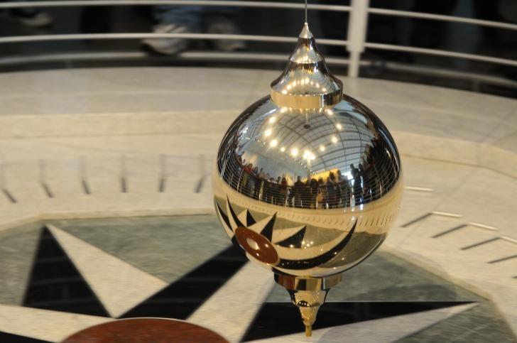 puntaran bandul pendulum membuktikan bumi datar